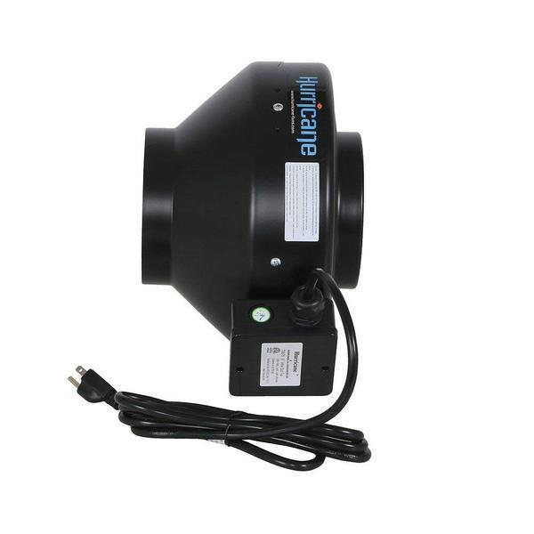 Ventilador embutido do furacão - ventilador de barraca de cultivo de 6 polegadas