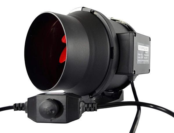 Fornecimento de Formline Ventilador de duto em linha de 6 polegadas com controlador de velocidade variável